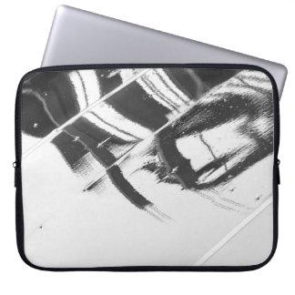 Nasse Oberfläche Laptopschutzhülle
