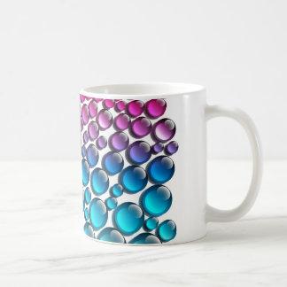 nasse Oberflächentropfen durch das Ändern Kaffeetasse