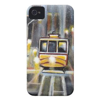 Nasse Tram Calafornia Case-Mate iPhone 4 Hülle