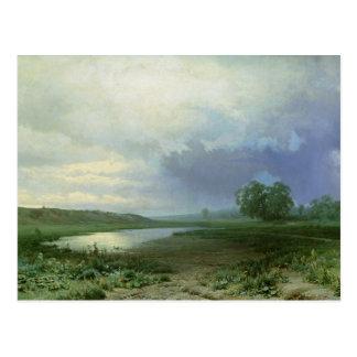 Nasse Wiese, 1872 Postkarte