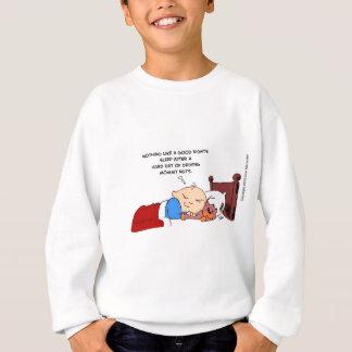 nathan gute Nachtschlaf hallo res.psd.jpg Sweatshirt