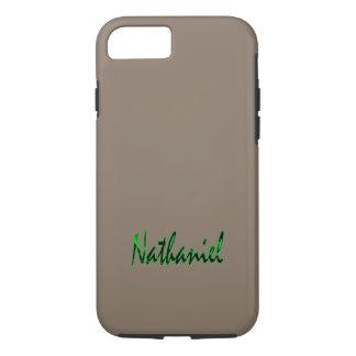 Nathaniel fertigte starken iPhone Fall besonders iPhone 8/7 Hülle