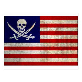 Nation Pirat Postkarte