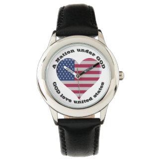 Nation unter GOTT Armbanduhr