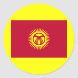 National Flag of Kyrgyzstan Stickers