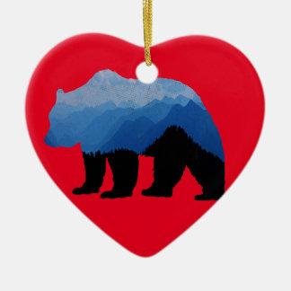 National_Park_bear Keramik Ornament