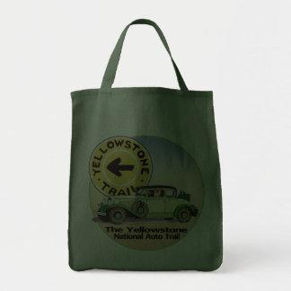Nationale Auto-Spur Yellowstone Einkaufstasche