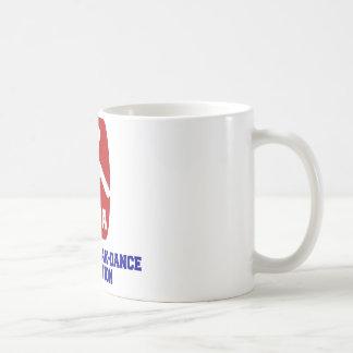 Nationale Breakdance Vereinigung Kaffeetasse