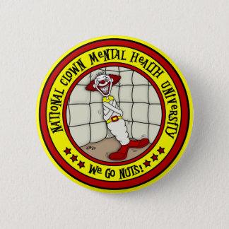Nationale Clown-Gesundheits-Universität Runder Button 5,7 Cm