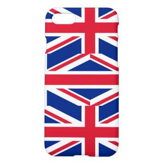 Nationale Flagge des Vereinigten Königreichs iPhone 8/7 Hülle