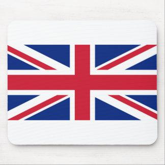 Nationale Flagge des Vereinigten Königreichs Mousepad