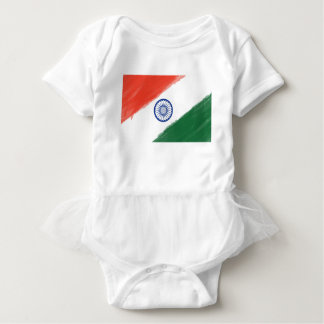 Nationale Land-Nation indische Baby Strampler