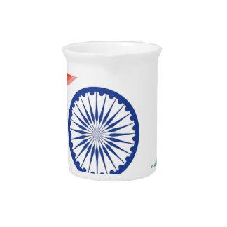 Nationale Land-Nation indische Getränke Pitcher