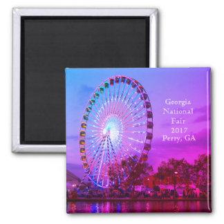 Nationale Messe Georgia, Perry GA Quadratischer Magnet