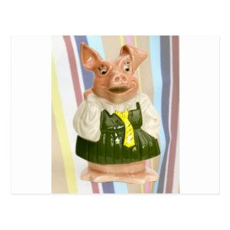 Nationale Piggy Westbank Postkarte