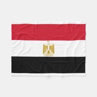 Nationale Weltflagge Ägyptens Fleecedecke