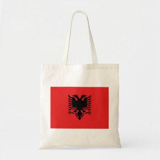 Nationale Weltflagge Albaniens Tragetasche