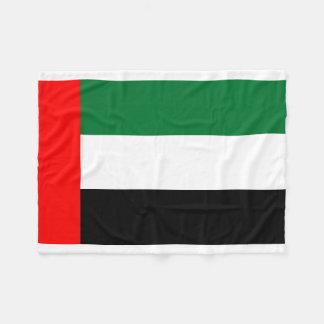 Nationale Weltflagge Arabische Emirates Fleecedecke