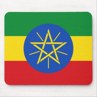 Nationale Weltflagge Äthiopiens Mauspad