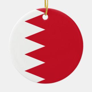 Nationale Weltflagge Bahrains Keramik Ornament
