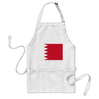 Nationale Weltflagge Bahrains Schürze