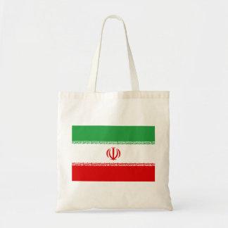 Nationale Weltflagge des Irans Tragetasche