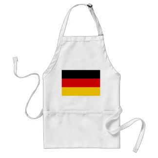 Nationale Weltflagge Deutschlands Schürze