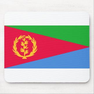 Nationale Weltflagge Eritreas Mousepad