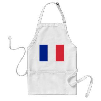 Nationale Weltflagge Frankreichs Schürze
