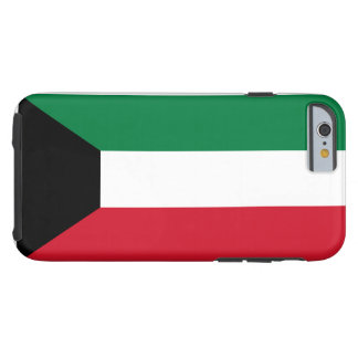 Nationale Weltflagge Kuwaits Tough iPhone 6 Hülle
