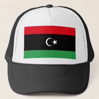 Nationale Weltflagge Libyens Truckerkappe