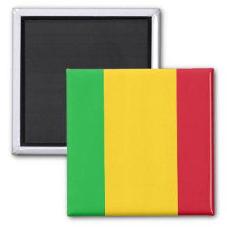 Nationale Weltflagge Malis Quadratischer Magnet