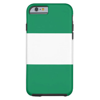 Nationale Weltflagge Nigerias Tough iPhone 6 Hülle