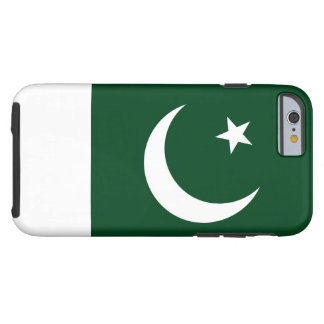 Nationale Weltflagge Pakistans Tough iPhone 6 Hülle