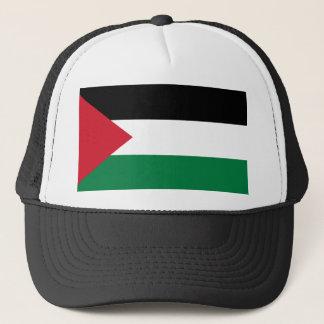 Nationale Weltflagge Palästinas Truckerkappe