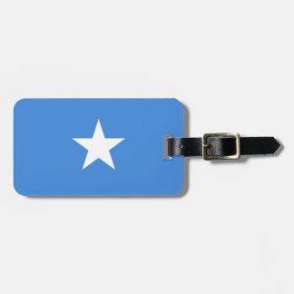 Nationale Weltflagge Somalias Gepäckanhänger