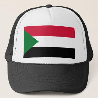 Nationale Weltflagge Sudans Truckerkappe