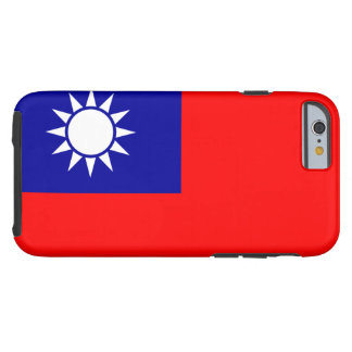Nationale Weltflagge Taiwans Tough iPhone 6 Hülle