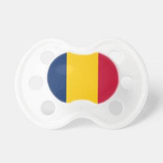 Nationale Weltflagge Tschads Schnuller