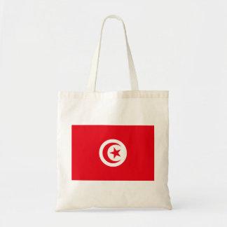 Nationale Weltflagge Tunesiens Tragetasche