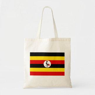 Nationale Weltflagge Ugandas Tragetasche