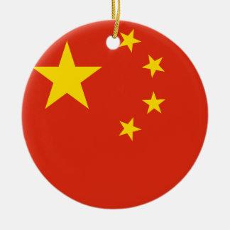 Nationale Weltflagge Volksrepublik China Keramik Ornament