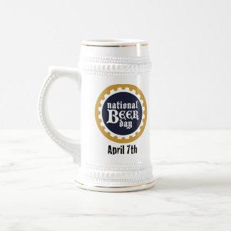 Nationaler Bier-Tag Stein Bierkrug