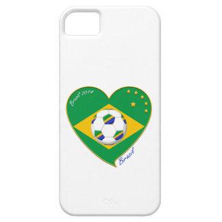 "Nationaler Brazilian football Team. Fußball ""BRAZI Etui Fürs iPhone 5"