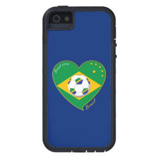 "Nationaler Brazilian football Team. Fußball ""BRAZI iPhone 5 Case"