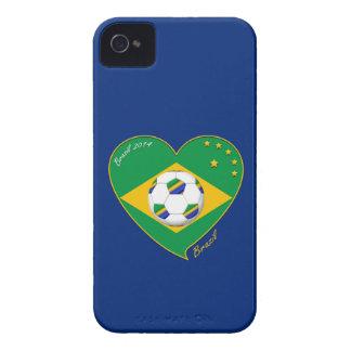 """Nationaler Brazilian football Team. Fußball """"BRAZI iPhone 4 Hüllen"""