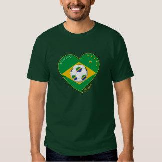"Nationaler Brazilian Team soccer. Fußball ""BRAZIL T Shirt"