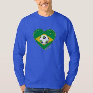 "Nationaler Brazilian Team soccer. Fußball ""BRAZIL Tshirts"