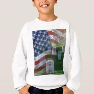 Nationaler Friedhof Arlingtons, amerikanische Sweatshirt