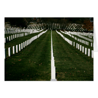Nationaler Friedhof Arlingtons fertigen besonders Karte